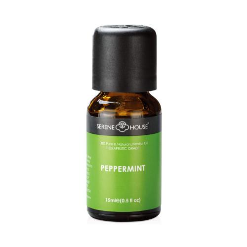 15ml bottle of Peppermint Essential Oil