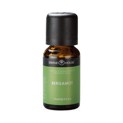 15ml bottle of Bergamot essential oil.
