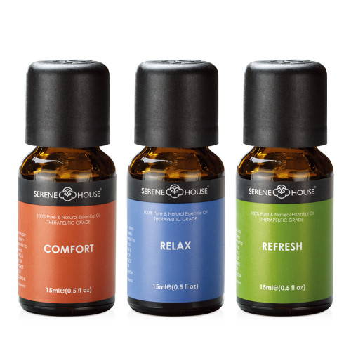 Spa Set - 100% Natural Essential Oil Gift Set 15ml