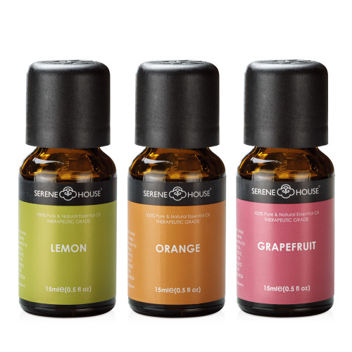 Citrus Set - 100% Natural Essential Oil Gift Set 15ml