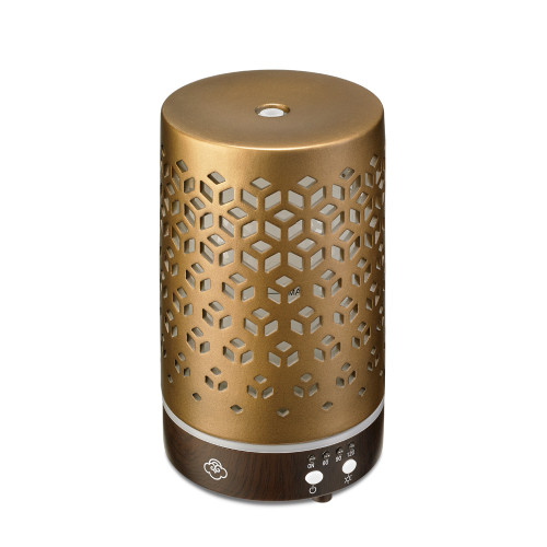 Lozenge Brown 90 Metal Ultrasonic Aroma Diffuser