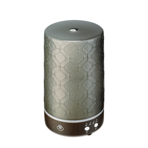 Lace Grey 90 Glass Ultrasonic Aroma Diffuser