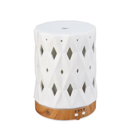 Zenith White 125 Ceramic Ultrasonic Aroma Diffuser