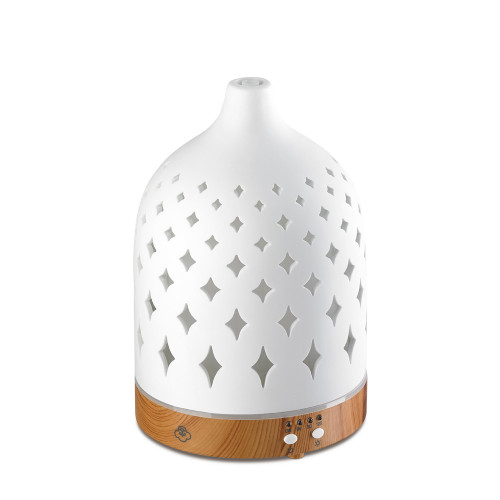 Supernova White 125 Ceramic Ultrasonic Aroma Diffuser