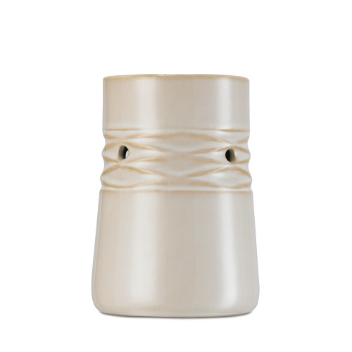 Net White Ceramic No Spill Wax Melt Warmer