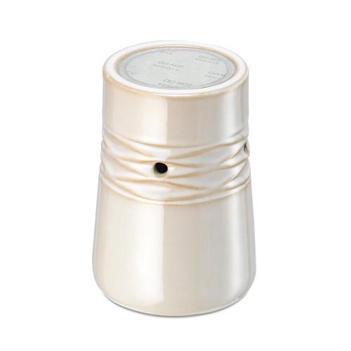 Net White Ceramic No Spill Wax Melt Warmer
