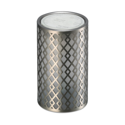 Arrow Silver Metal No Spill Wax Melt Warmer