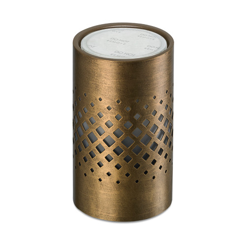 Twinkle Copper Metal No Spill Wax Melt Warmer
