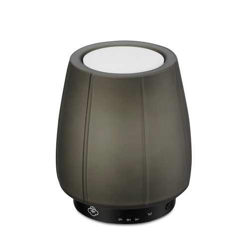 Tulip Grey Glass No Spill Wax Melt Warmer with Timer