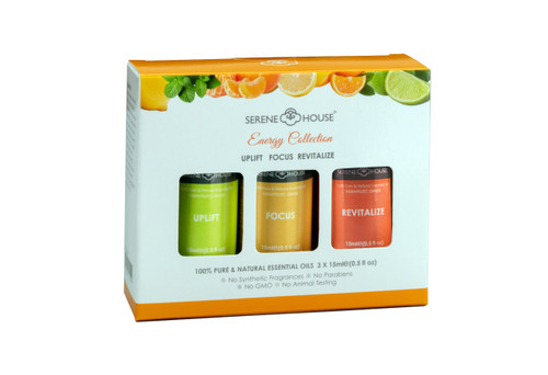 Energy Collection Natural Essential Oil Gift Set