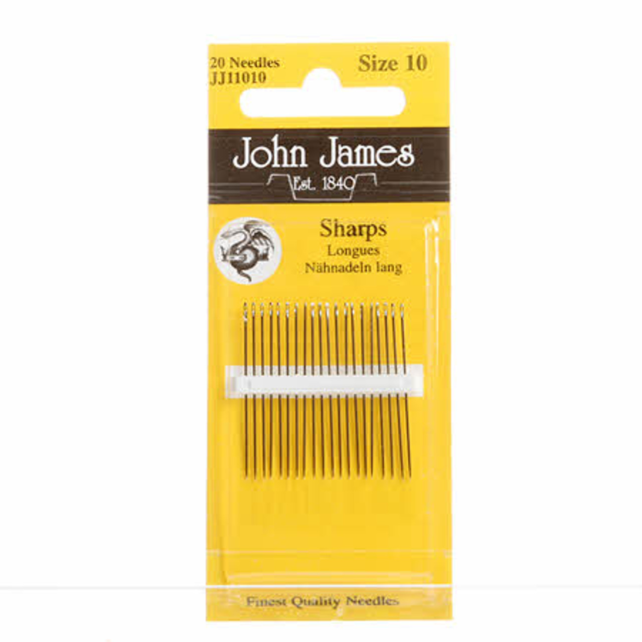 20 x John James Needles Sharps Size 5
