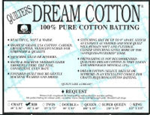 Request Natural Dream Cotton, Queen