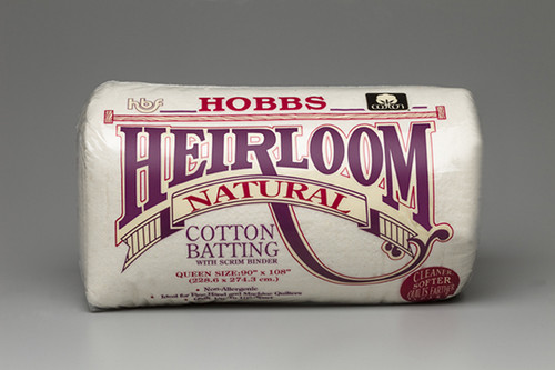 Heirloom Natural Cotton with Scrim