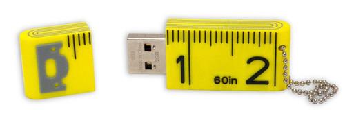 Tape Measure - USB Drive