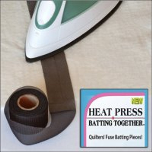Heat Press Batting Together - 1.5 inch Batting Tape
