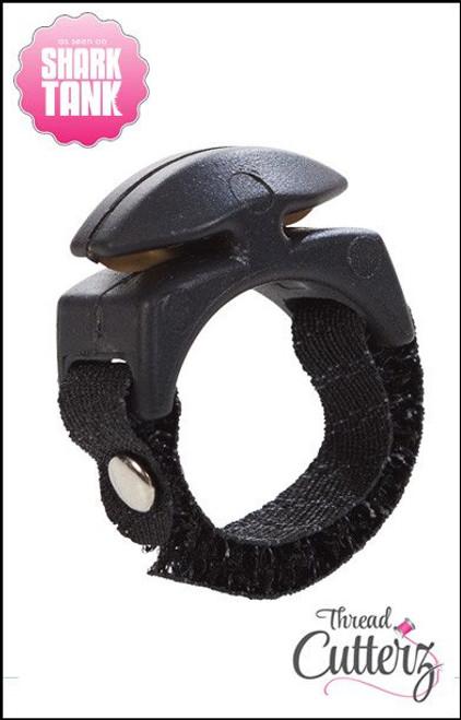 Black Thread Cutterz Ring - as seen on Shark Tank