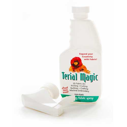 Terial Magic - Fabric Stabilizer to help you expand your creativity with fabric