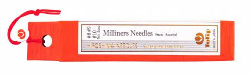 Tulip Milliners Straw Needle Assorted #8, #9, #10
