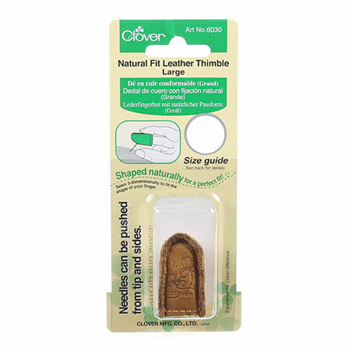 Natural Fit Leather Thimble, Large