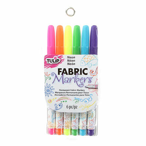 Fabric Markers, Neon