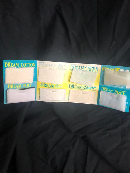 Quilters Dream Batting Card - Interior