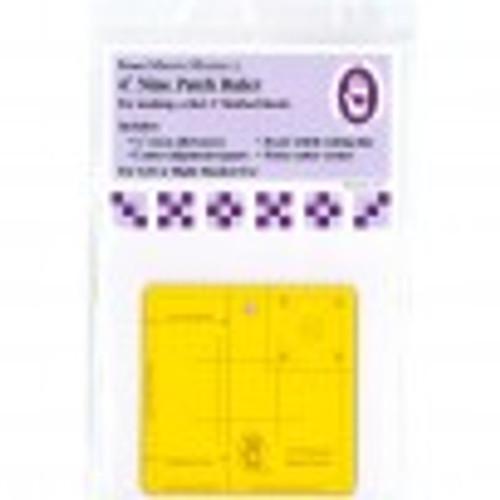 """Ruler - Nine Patch 4"""""""