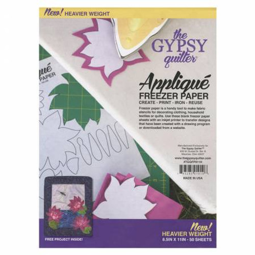 Applique Freezer Paper from the Gypsy Quilter