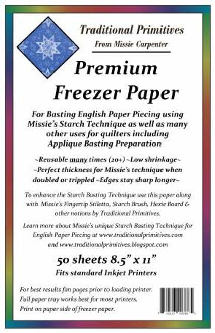 Freezer Paper, Premium Quality 50 sheet pack