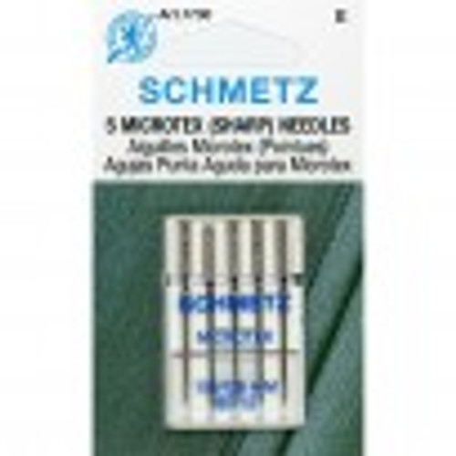 Schmetz Microtex (Sharps) 12/80