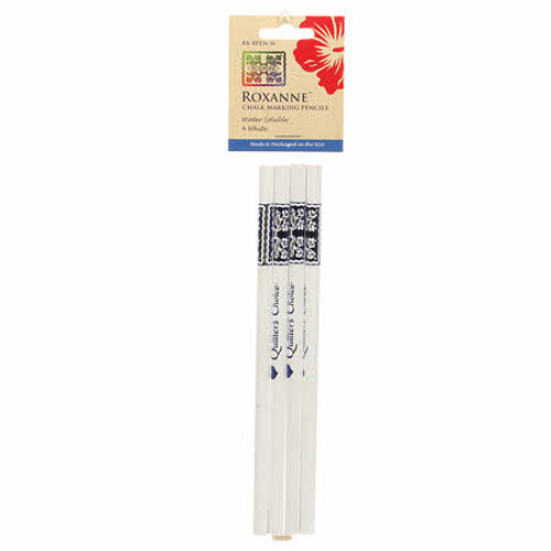 Roxanne  Chalk Marking Pencils White