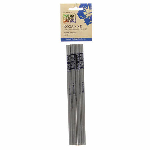 Roxanne  Chalk Marking Pencils Silver