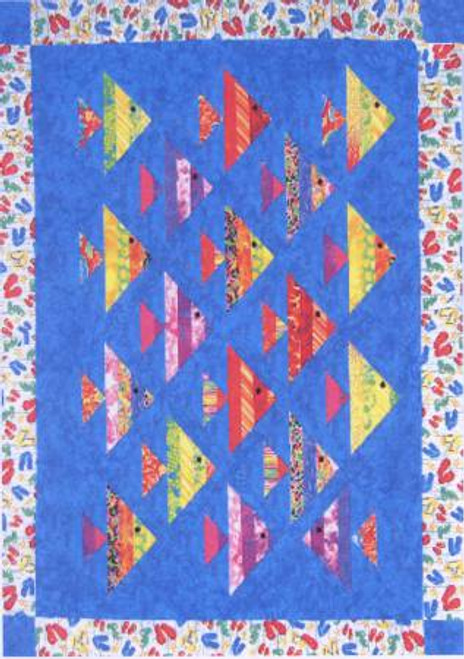1 Fish, 2 Fish, Cozy Quilt Designs