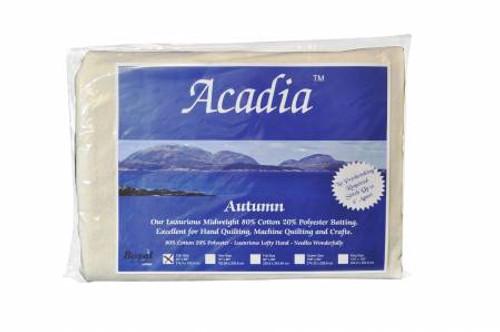 Acadia Premium Batting - Autumn 4 oz 80/20, Queen