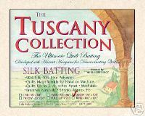Tuscany Silk, Throw