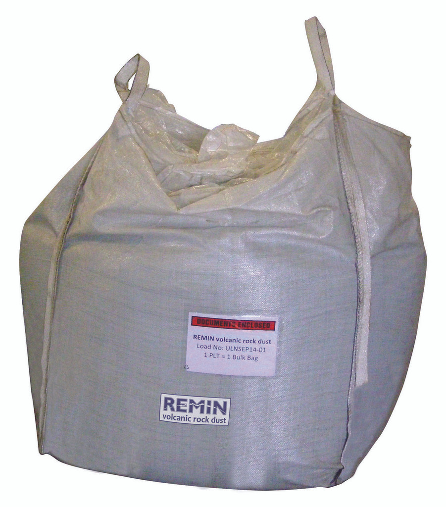 Remin Volcanic Rock Dust 1 Tonne Bulk Bag