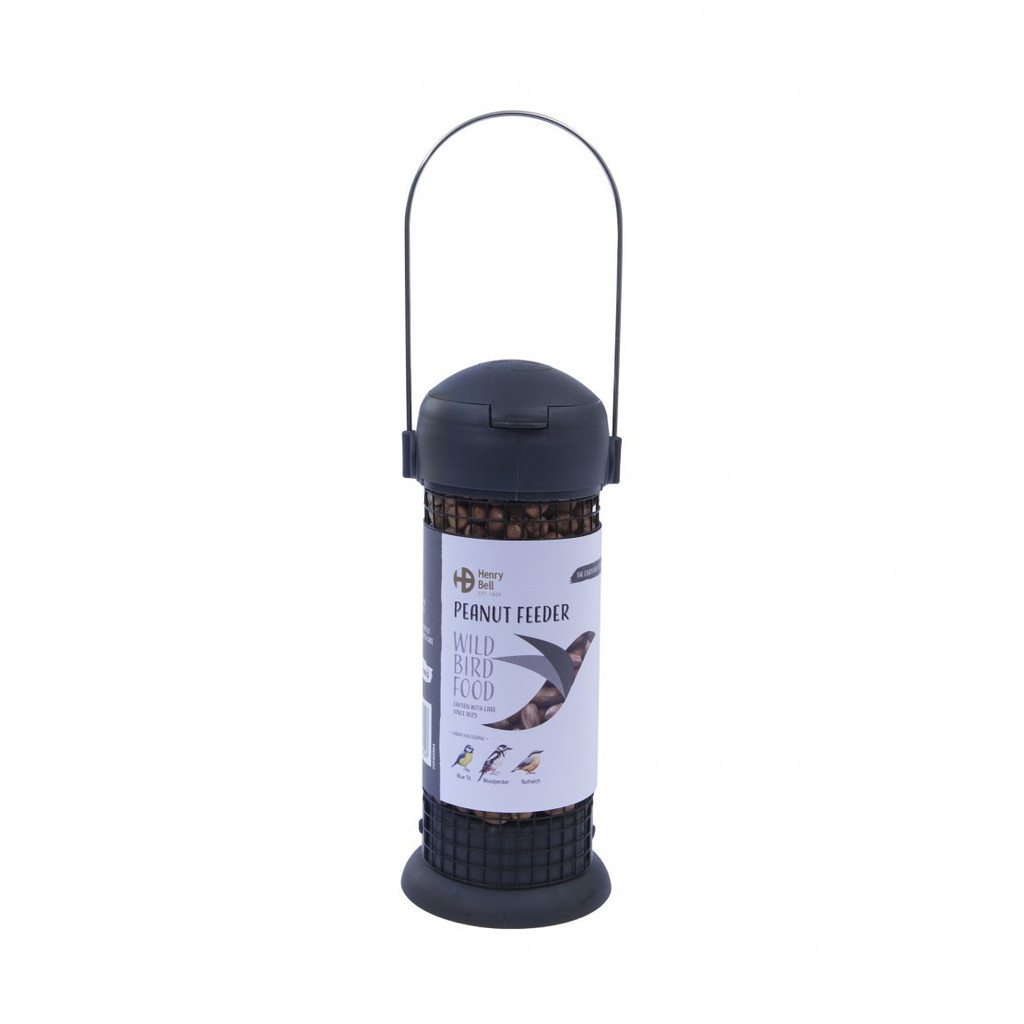 Henry Bell Ready To Feed Filled Peanut Feeder