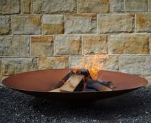 Corten Steel Firepit