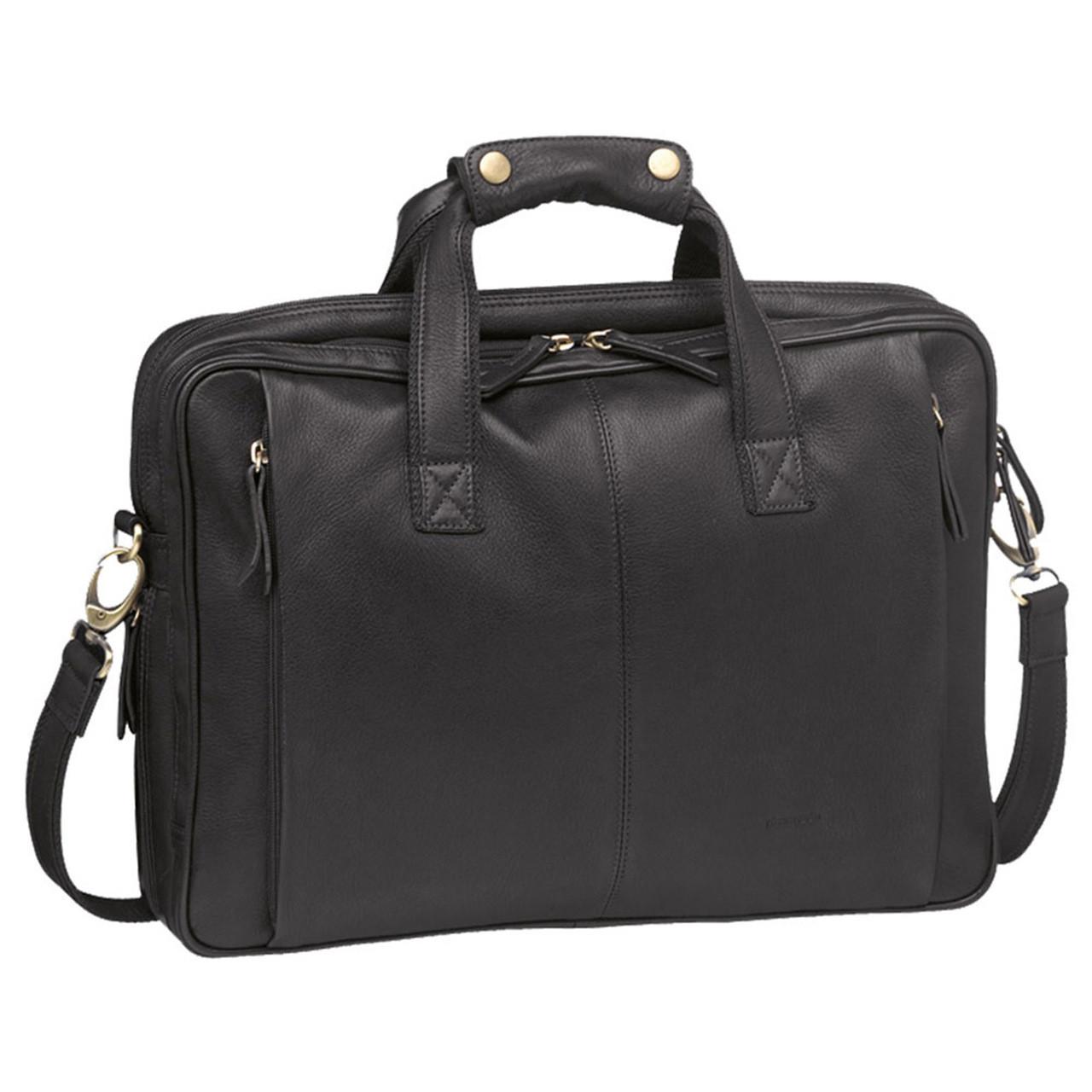 Pierre Cardin Unisex Black Laptop Computer Satchel Buy Bags Online At Orquestra