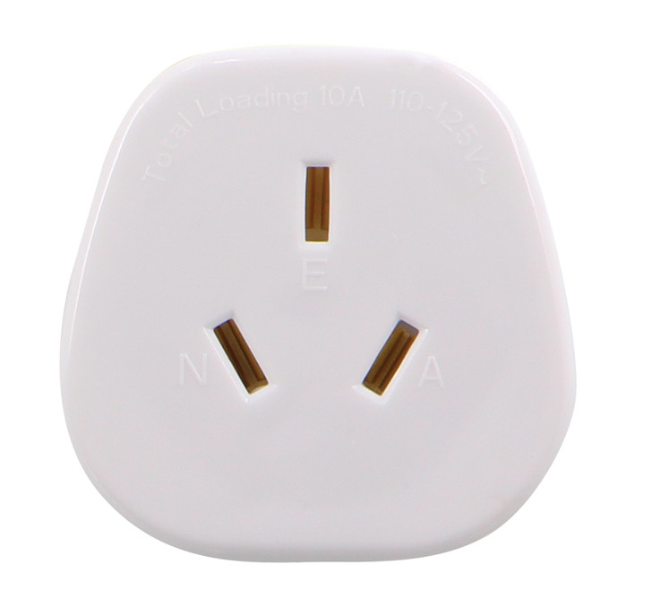 Lewis N Clark Travel Adapter - USA Grounded (LCE614)
