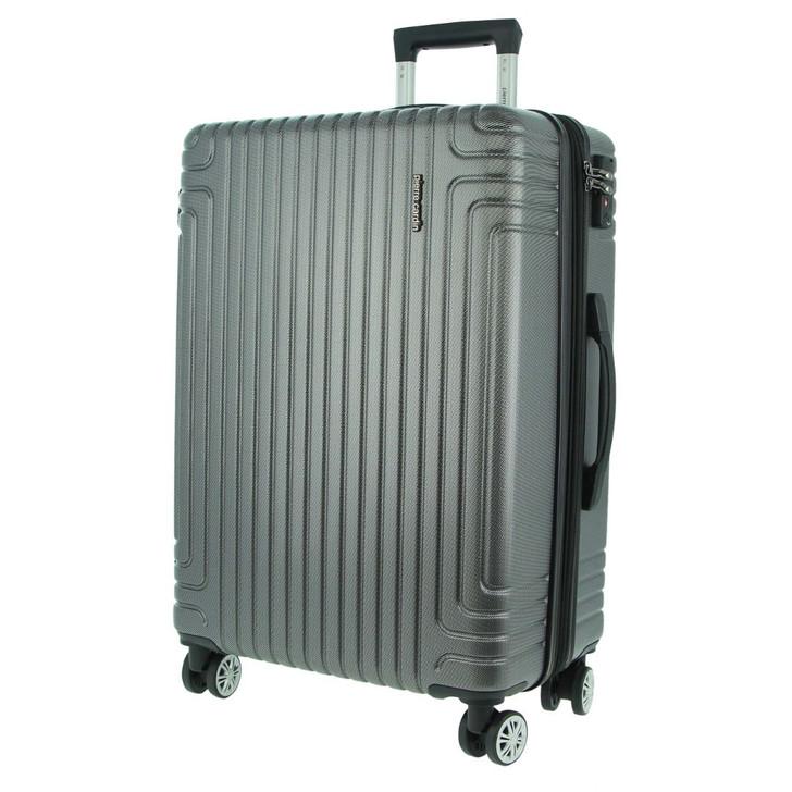 Pierre Cardin 69cm Hard Shell Case in Charcoal (PC3168L)