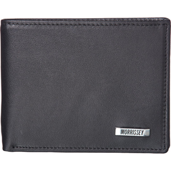 Morrissey Italian Leather Mens Wallet in Black (MO 10096)