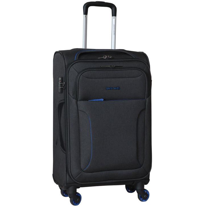 Pierre Cardin Soft Luggage Case in  Black - MEDIUM (PC2823L)
