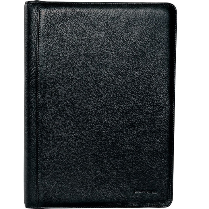 Pierre Cardin Leather A4 Business Folio in Black (PC8872)