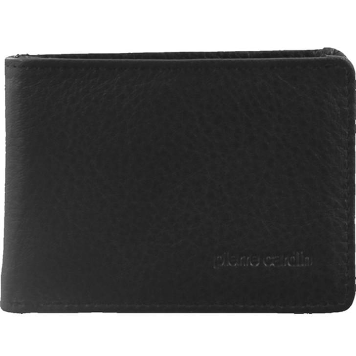 Pierre Cardin Mens Italian Leather Wallet in Black (PC1160)