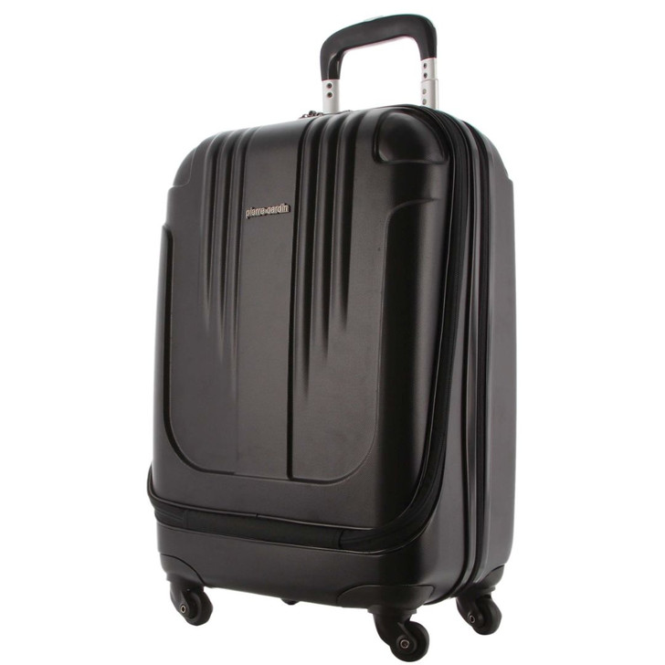 Pierre Cardin Computer Mobile Office Luggage Case in Black (PC 2213)