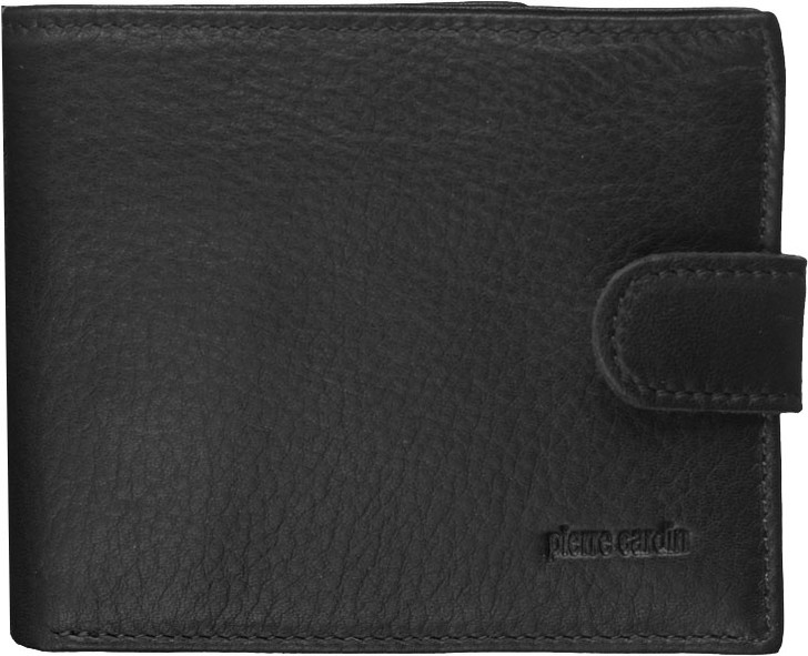Pierre Cardin Italian Leather Mens Wallet/Card Holder in Black (PC8780)