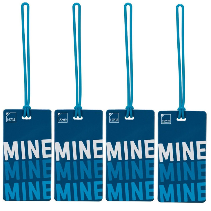 Luggage Tag   Mine (LC7612) - PACK OF 4