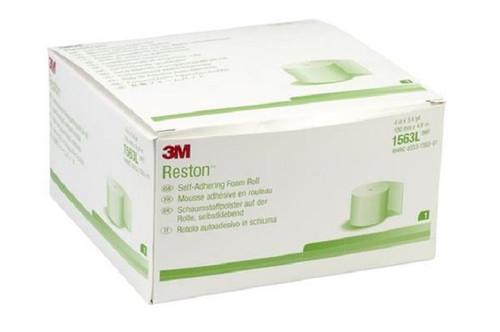 """3M-1563L Reston Self-Adhering Foam Roll 3/16"""" x 4"""" x 196"""" Roll/1 5/BX"""