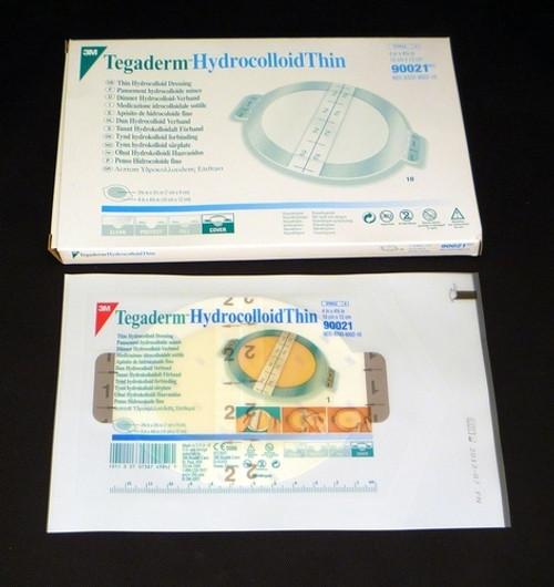 "TEGADERM Hydrocolloid Dressing 2 3/4 X 3 1/2"" (7cm x 9cm) BX/10 Case"