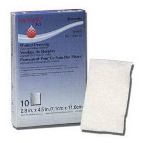 """Convatec 168212 KALTOSTAT Calcium Alginate WOUND Dressing, 7.5cm x 12cm (3"""" x 5"""") BX/10"""